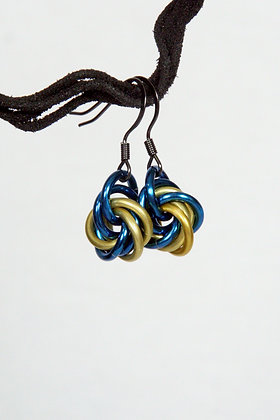 Sea Life Mobius Earrings