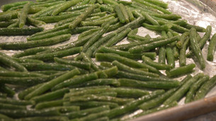 Healthy Snack – Crispy Green Beans