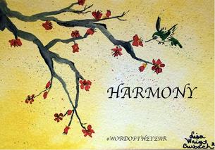 Harmony – #wordoftheyear