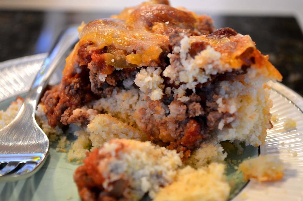 Beef Tamale Bake