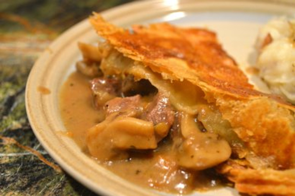 steak and ale pie