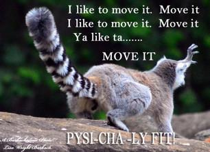 I Like to Move it; I like to move it, move it..