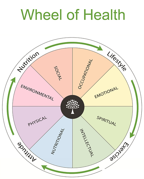 Wheel of Health - Holistic healthy living