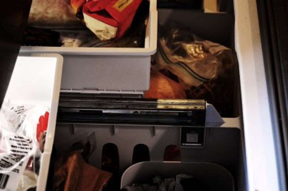 Shopping in your freezer!