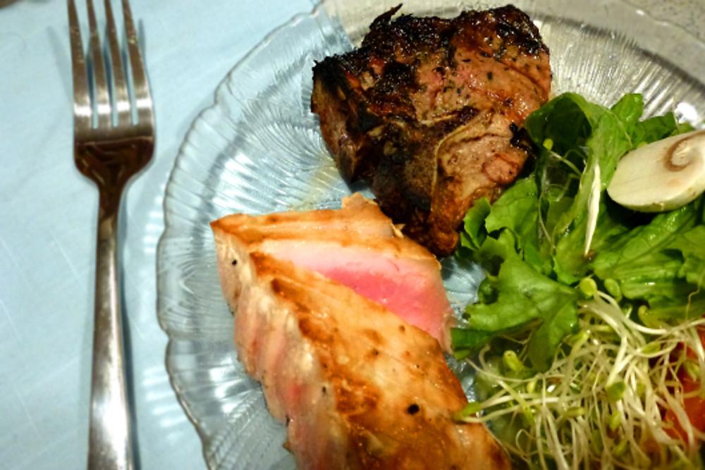 lamb & fish