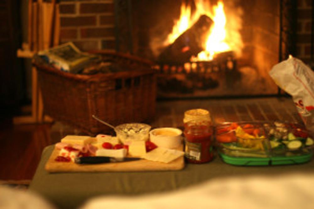 cheese & Veg fire