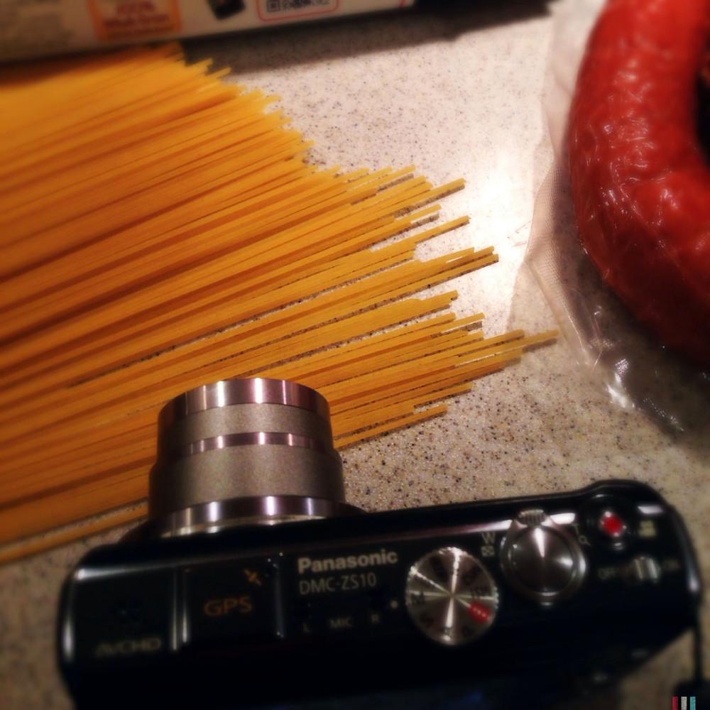 pasta camera