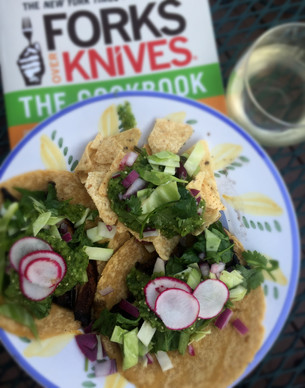 Review: Portobello Mushroom Tacos with Salsa Verde – Forks Over Knives