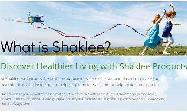 what is shaklee.jpg