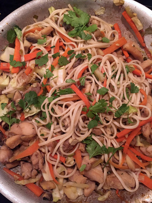 Review: Chicken & Veg Stir Fry with Udon Noodles – Anne Burrell