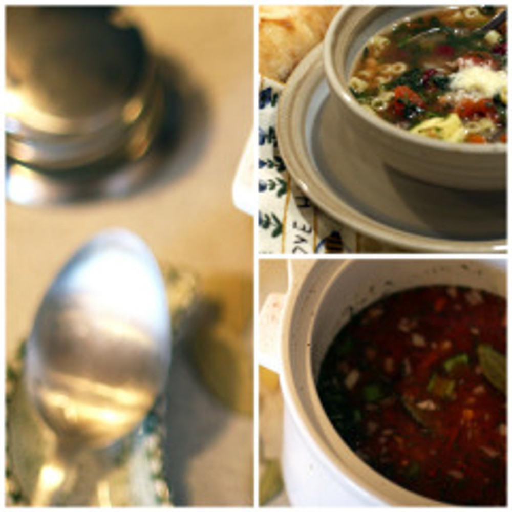 minestrone collage