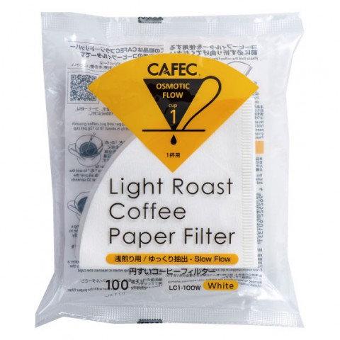 三洋産業 CAFEC 浅煎り用円すいコーヒーフィルター 1杯用