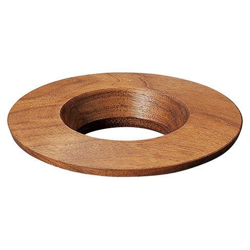 ORIGAMI 木製ドリッパホルダー ダークブラウン