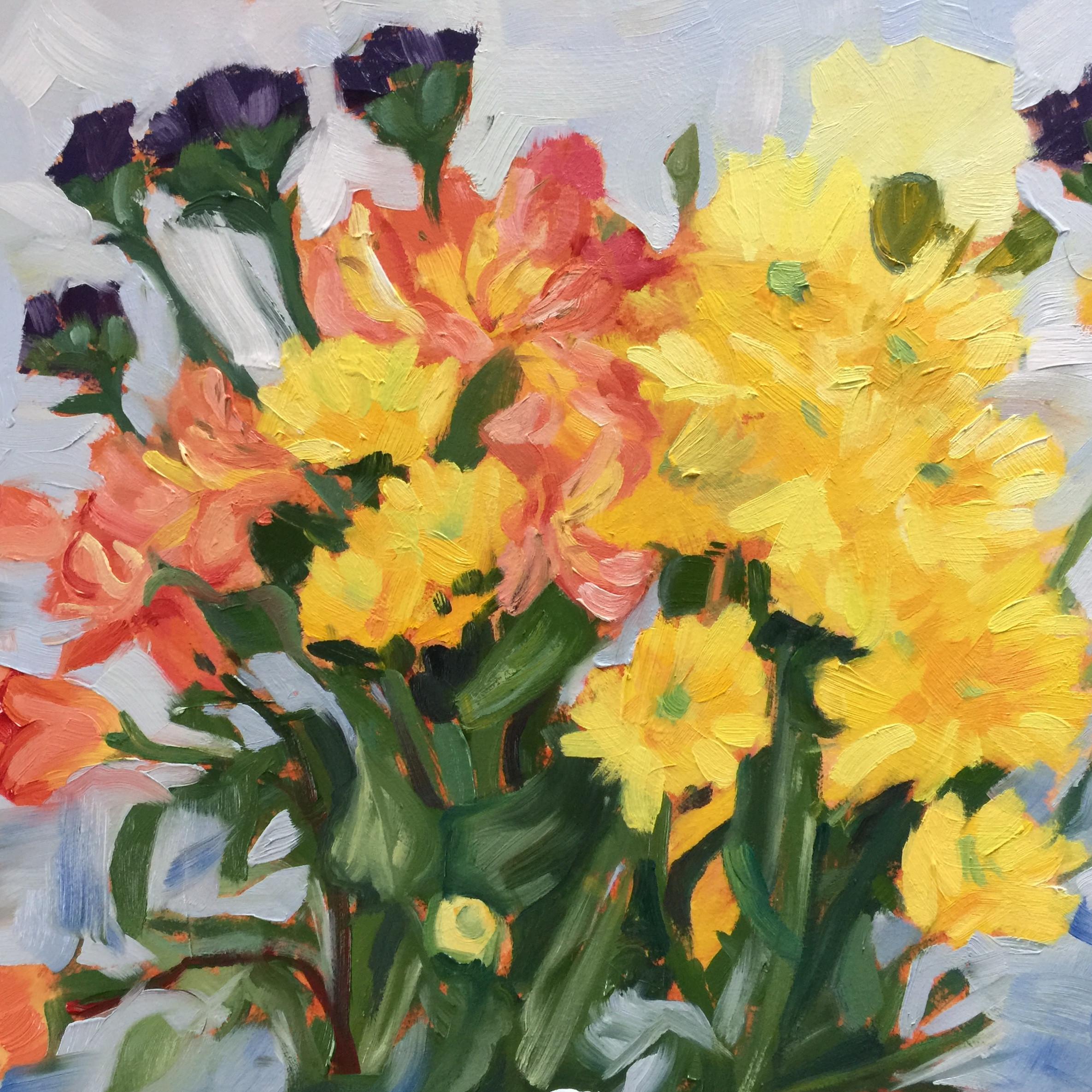 Beginning/Intermediate Acrylic Painting