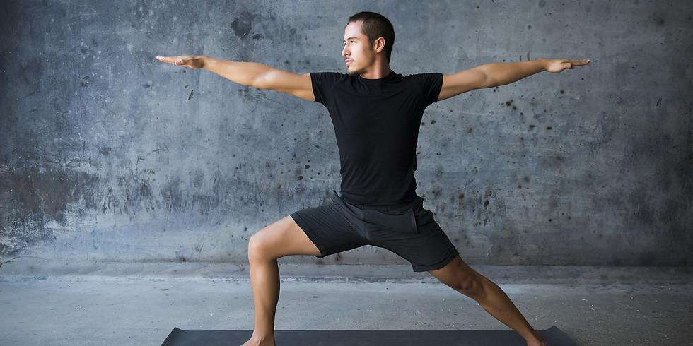 Mixed level live-streamed yoga