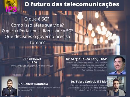 Live IP3 - O Futuro das Telecomunicações: 5G