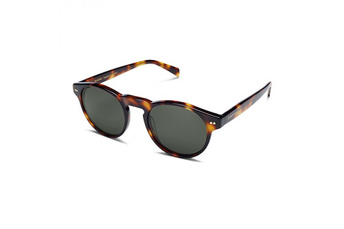 KAPTEN & SON BERKELEY TORTOISE GREEN SUNGLASSES