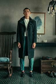 TAILOR CORDUROY TRENCH COAT