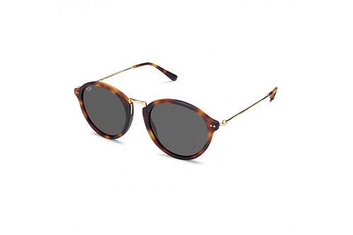 KAPTEN & SON MAUI MATT TORTOISE BLACK SUNGLASSES