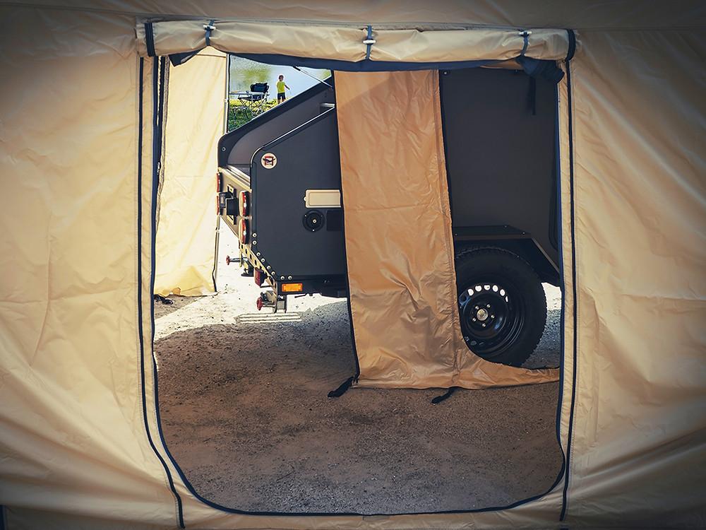 Прицеп капля кемпер Навигатор 2 Серый от Лаггар Про