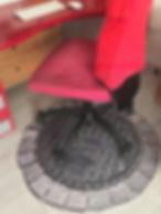 Tappeto sotto sedia Fuorirottadesign