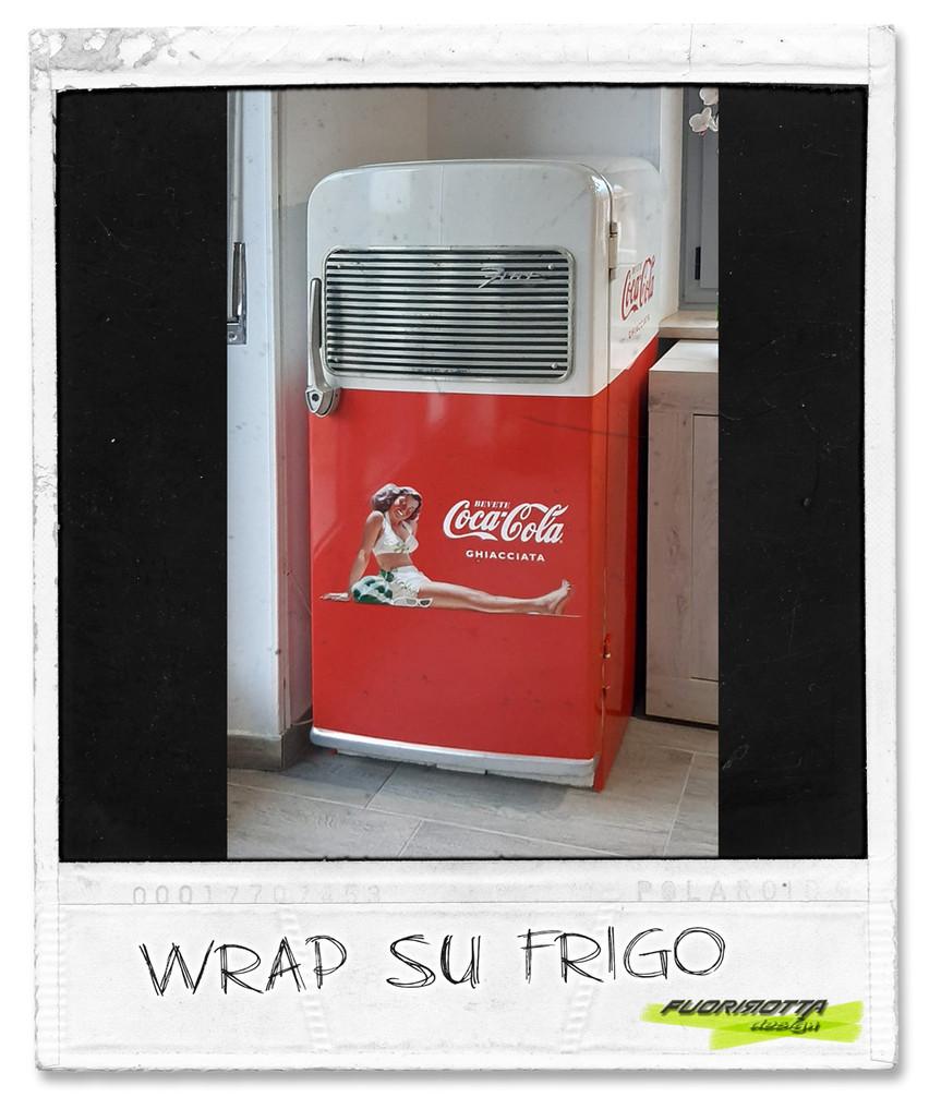 coc cola vintage su frigo