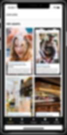 UpJaunt travel app Explore screenshot