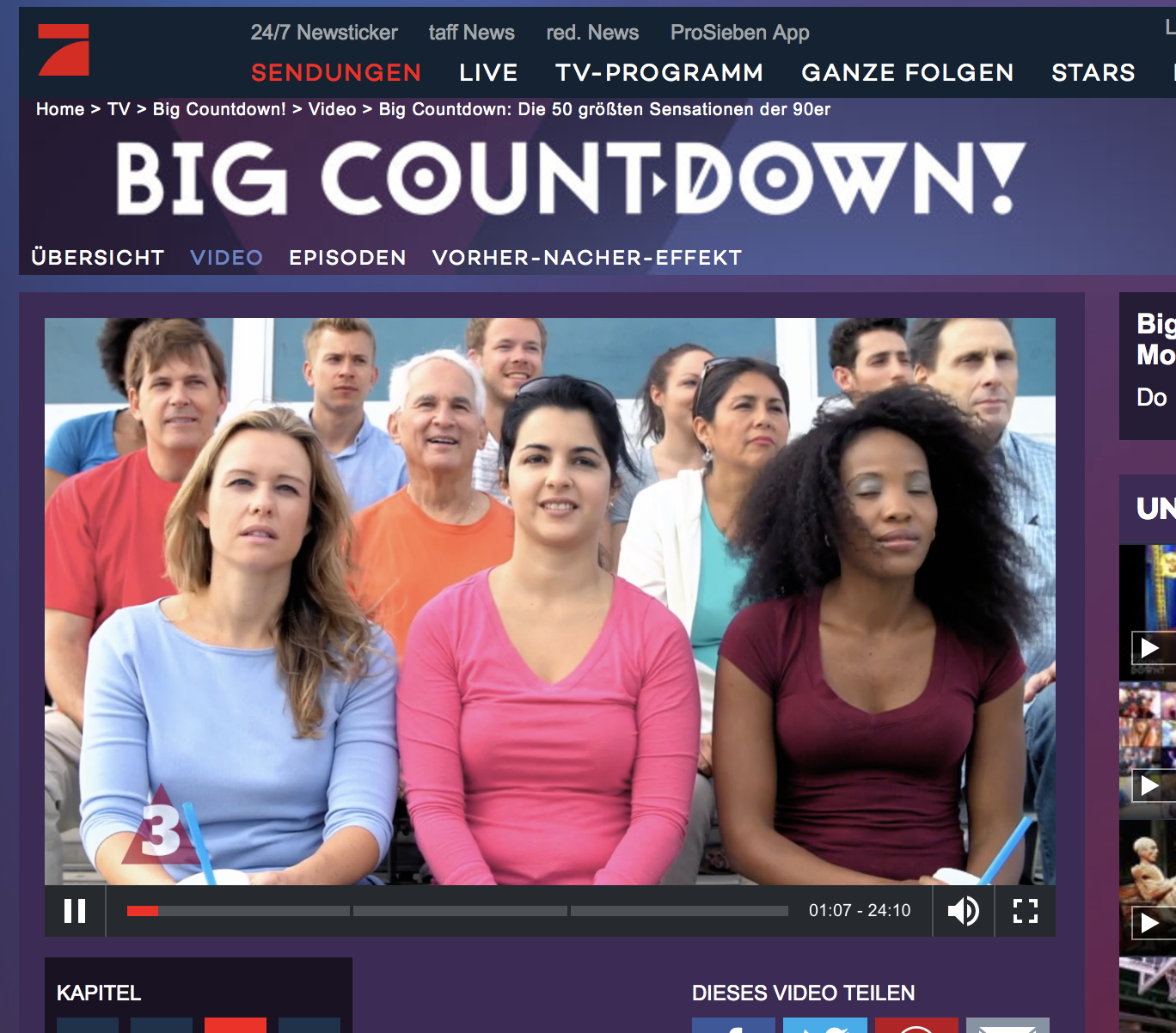 The Big Countdown - German TV Show