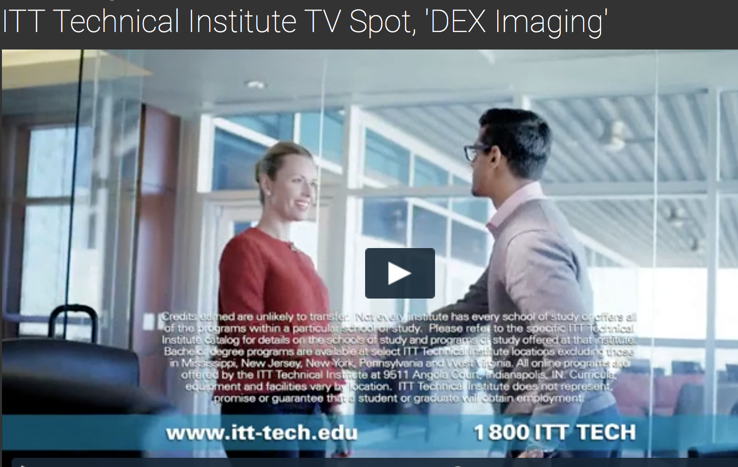 Dex Imaging & ITT College