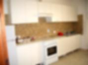 zona giorno del residence, camere con cucina