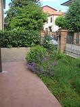 il cortile dell'affittacamere