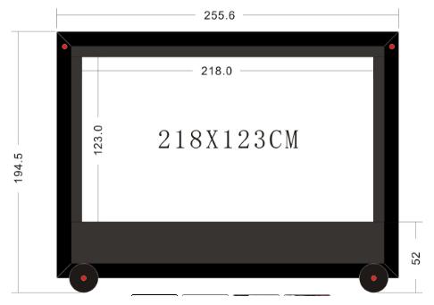 2.5m measurements