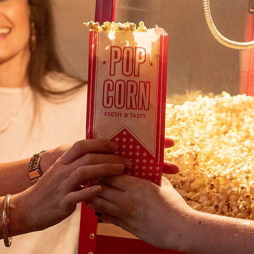 8oz Popcorn Machine Hire With 30 Serves Of Popcorn