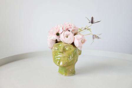Eevert, 2019  Ceramic, glaze  Photo Hilja Mustonen Flowers Blomma Creatives