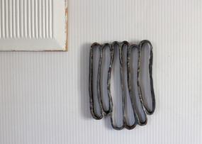 It is not iron, 2020  Wall art Clay, glaze