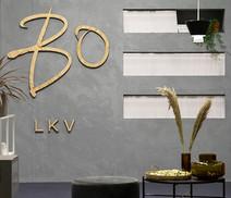 Exhibition stand design  Client: BO LKV Exhibition: Rakenna ja sisusta 2019    2019 w/ Designer Oona Hallikainen  Photo: J-P Virtanen