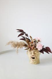 Jacob  Ceramic pot    Clay, glazing  2020  Photo Hilja Mustonen Flowers Blomma Creatives