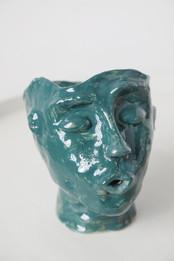Tove  Ceramic pot   Clay, glazing, engobe 2020  Photo Hilja Mustonen