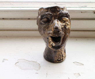 Morrison  Ceramic pot    Black clay, glazing  2019