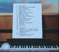 CD Cover, back. 2018