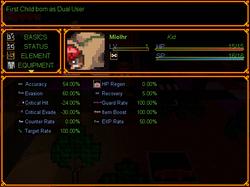 Updated Status Screen