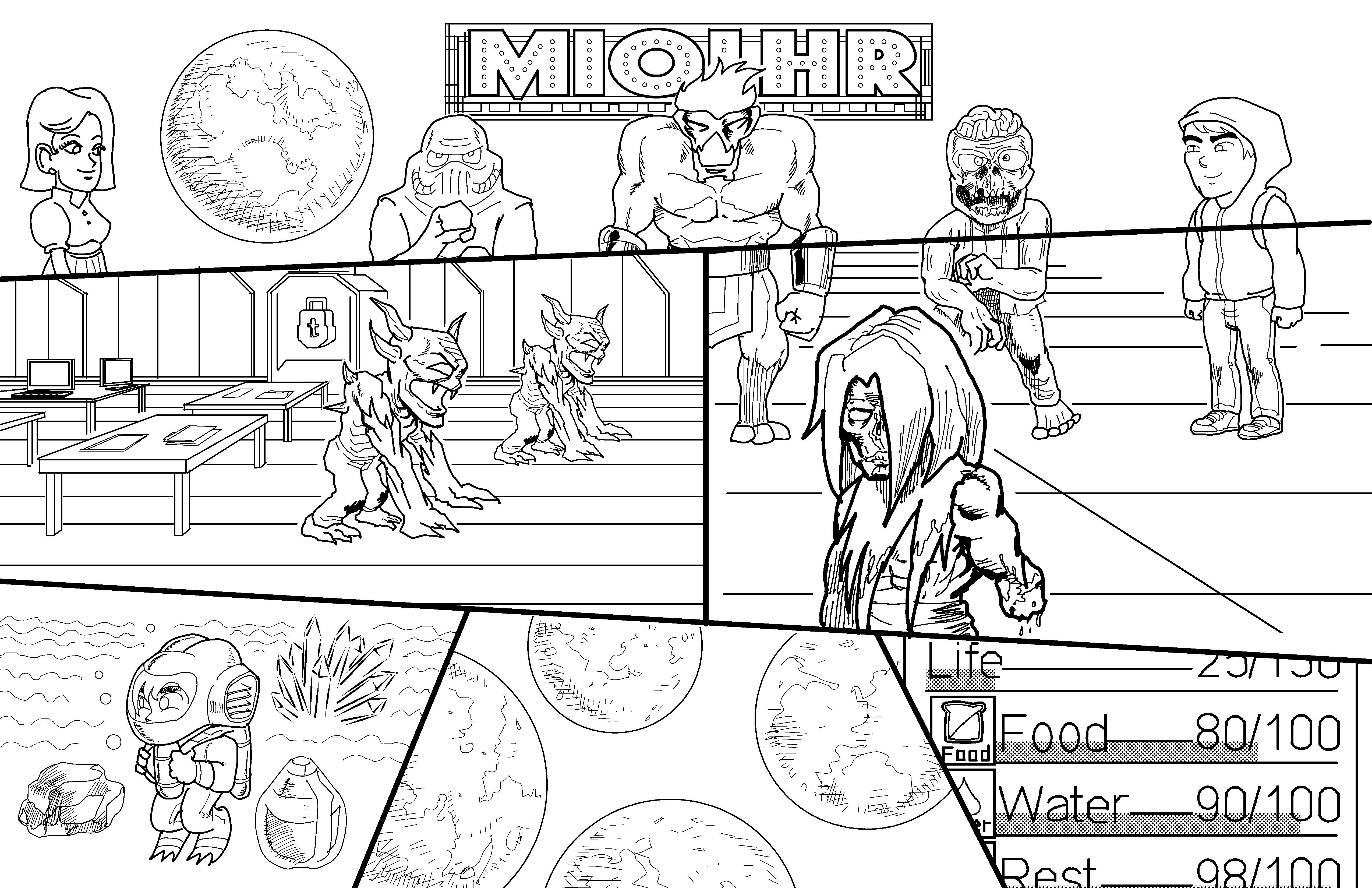 Miolhr Title Comic