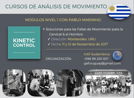 Pablo Marinho inaugura nuevos territorios para el Kinetic Control
