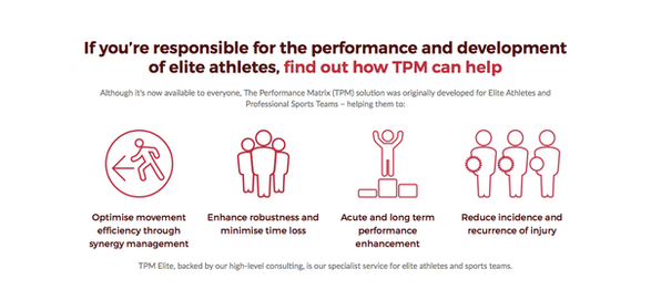 TPM Elite The Performance Matrix Pablo M