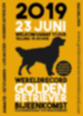 flyer golden retriever record_Tekengebie