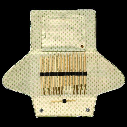 Комплект Addi Бамбук игли за плетене