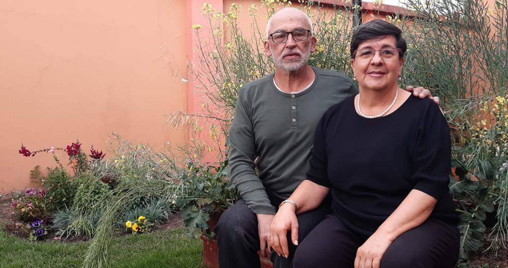Daniel y Luisa Calvo