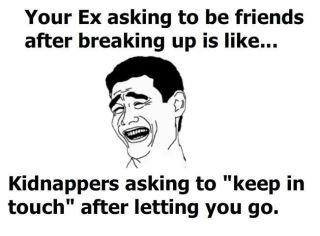 Can you be friends with the Ex?