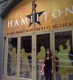 Hamilton's Opening Night