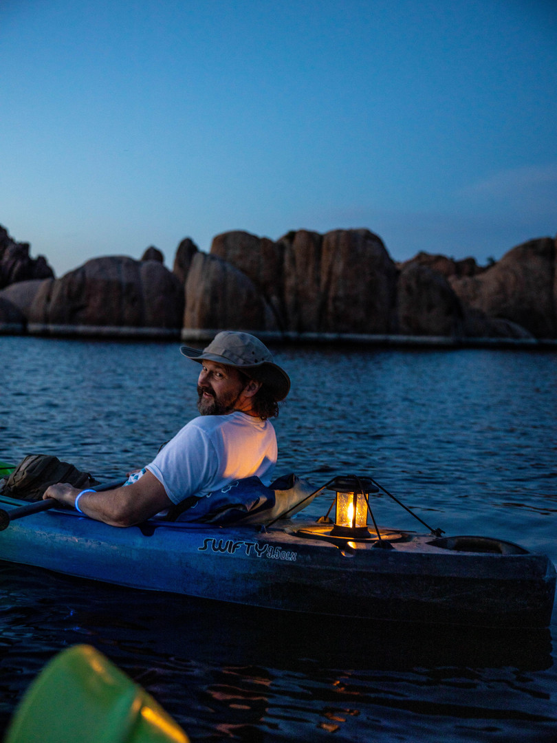 Moonlight Kayaking b2bwild